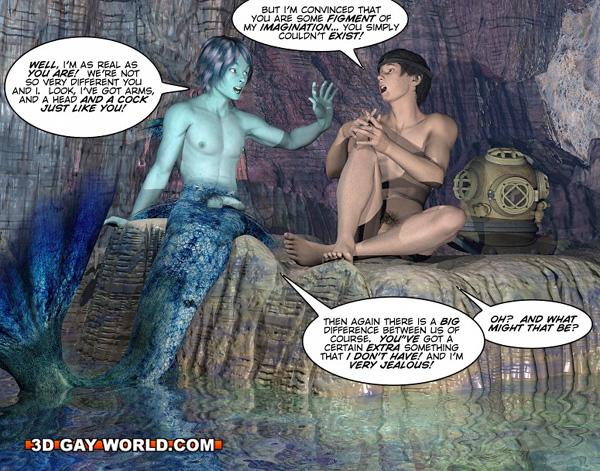 Gay free cartoon 3d